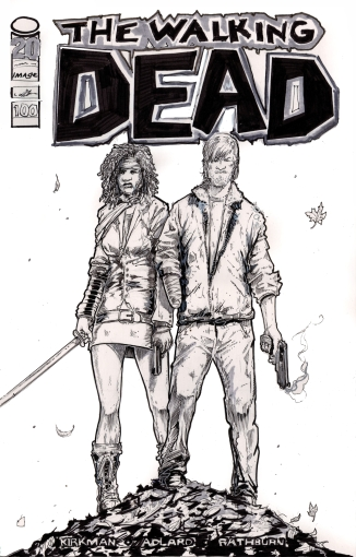 the Walking Dead - Cover Issue 100