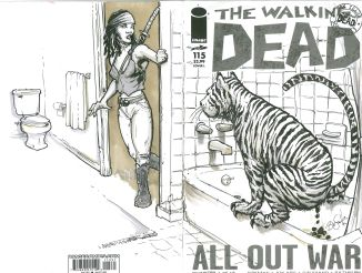 Walking Dead Cover Tiger